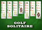 Golf Solitairをプレイ